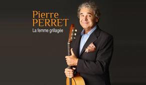 Promo autour de Pierre Perret et de La femme grillagée