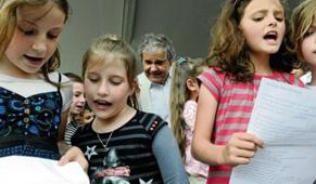 Inauguration ce vendredi 29 avril de l'école Pierre Perret à Saint-Julien-les-Rosiers