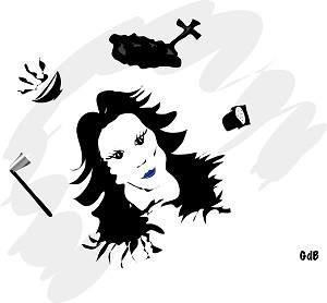 Illustration-par-GdBlog-de-la-chanson-de-Pierre-Perret-Le-bouillon-de-canard-