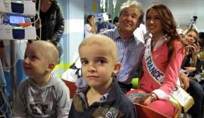 Le sourire des enfants à l'hôpital de Villejuif
