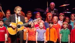 Le Cirque Royal de Bruxelles avec la chorale des enfants de l'école européenne