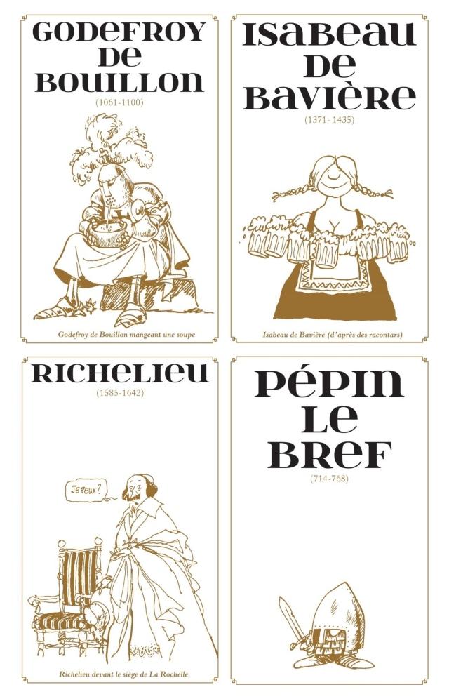 Extrait dessins de Loup pour les grandes pointures de l'histoire Pierre Perret