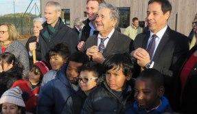 Inauguration de l'école Pierre Perret de Serris