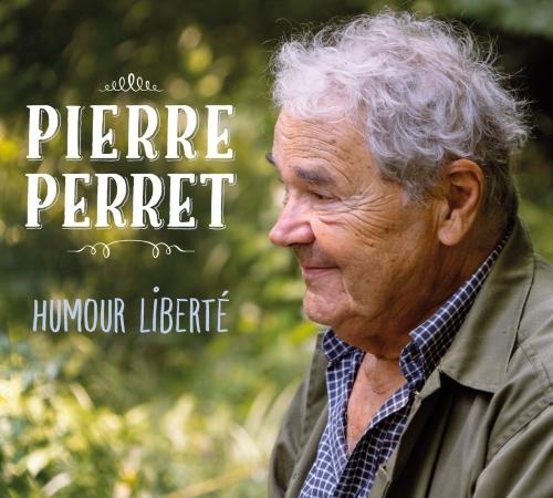 Pierre Perret pochette nouveau CD Humour Liberté